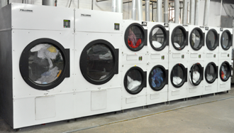 Bank of small dryers